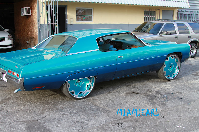 "PHOTOGRAPHY BY MIAMIEARL: CANDY TEAL 71 DONK ON 26"" FORGIATO FIORE"