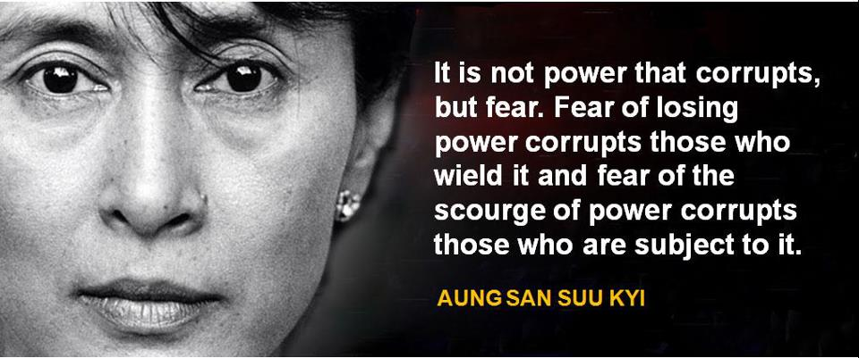 The Eloquent Woman Famous Speech Friday Aung San Suu Kyis  Famous Speech Friday Aung San Suu Kyis Freedom From Fear Essay Thesis also Thesis In Essay English Essay Friendship