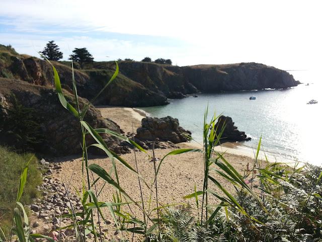 paysage, plage des soux, Ile d'yeu, bullelodie