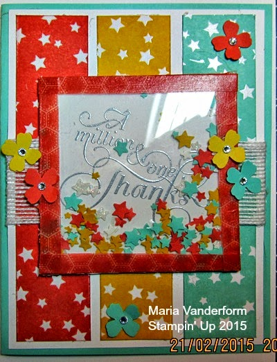 Crafty Maria S Stamping World Thanks A Million A