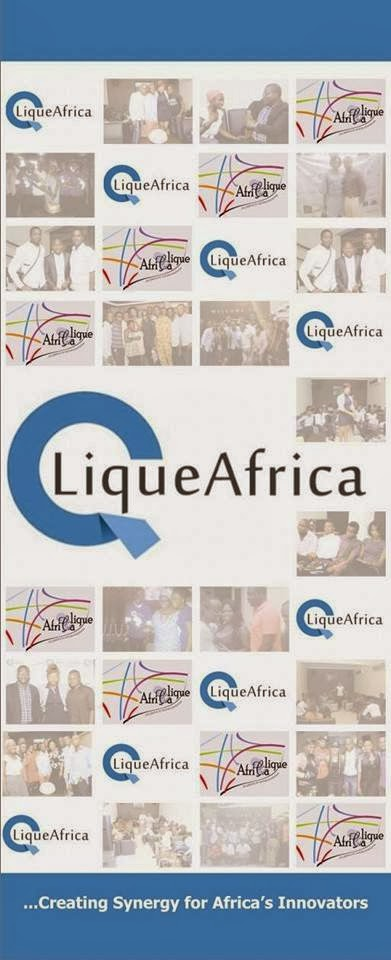 CliqueAfrica: A monthly Hangout for young Professional Entrepreneurs and Intrapreneurs.
