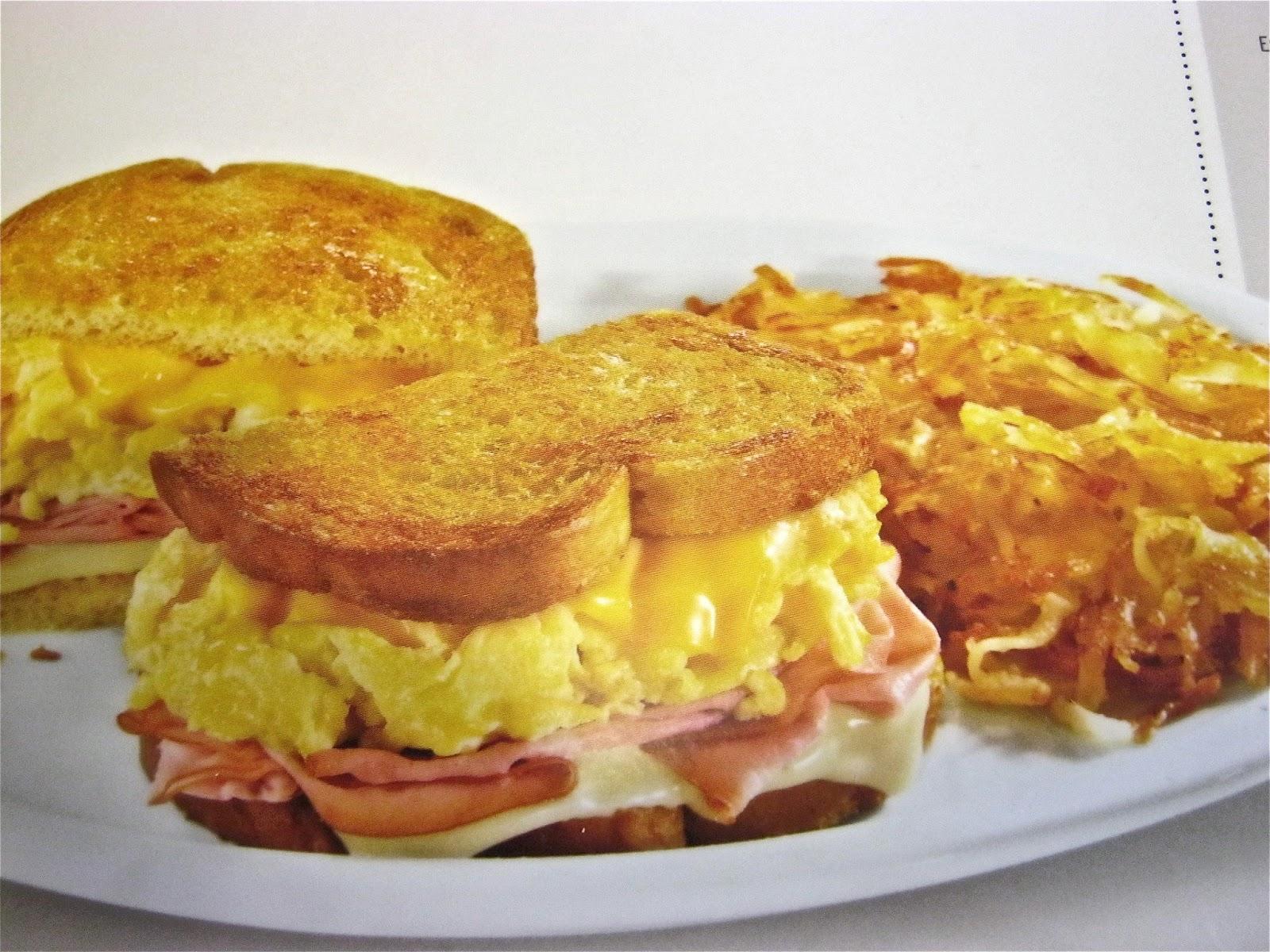 Moons Cafe Breakfast Menu