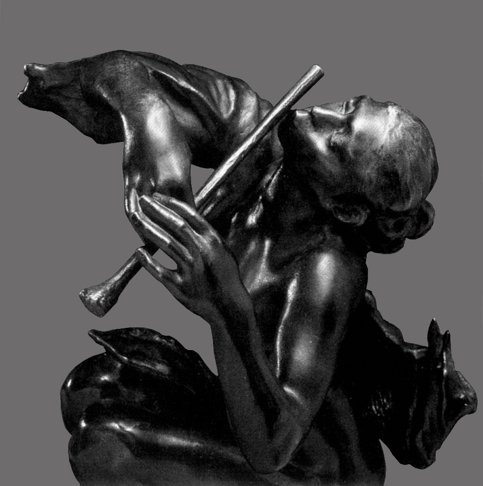 The Flute Player, 1904, Camille Claudel.