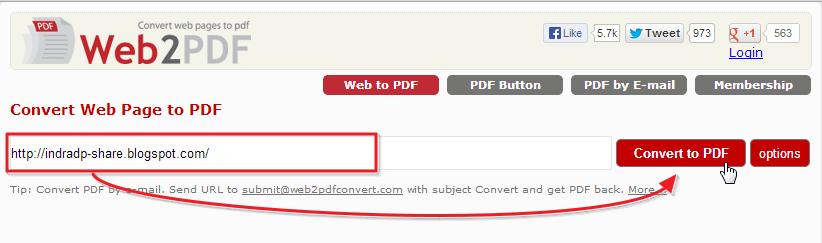 Web2PDF: Simpan Halaman Website Menjadi File PDF