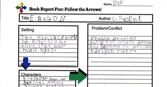 Book report eragon