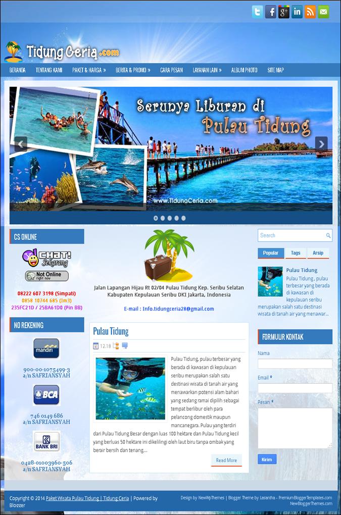 Simple Web Design Bali