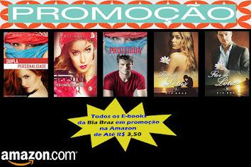E-books de Bia Braz por R$ 3,50