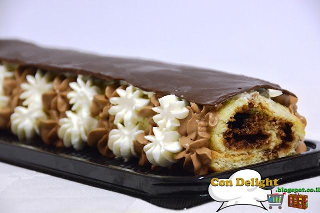 רולדת שוקולד chocolate roulade