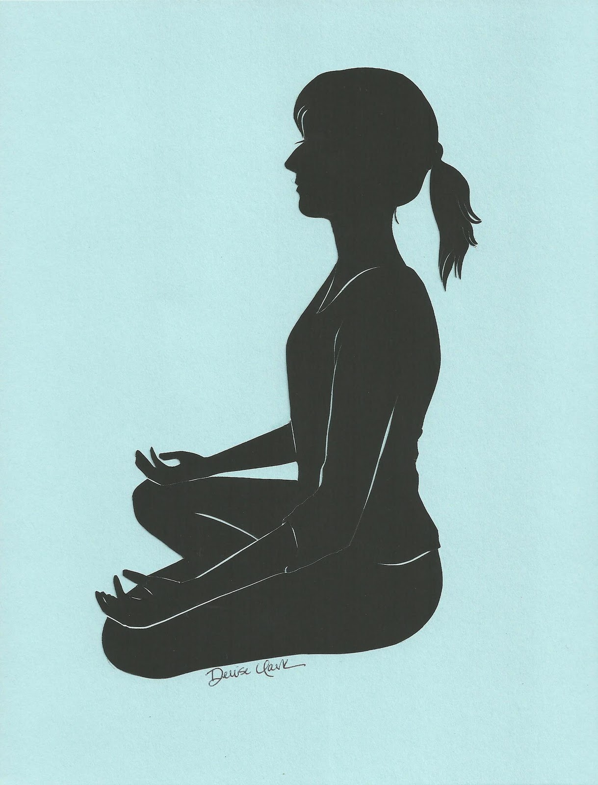 YOGA STONE SILHOUETTES | silhouette-art