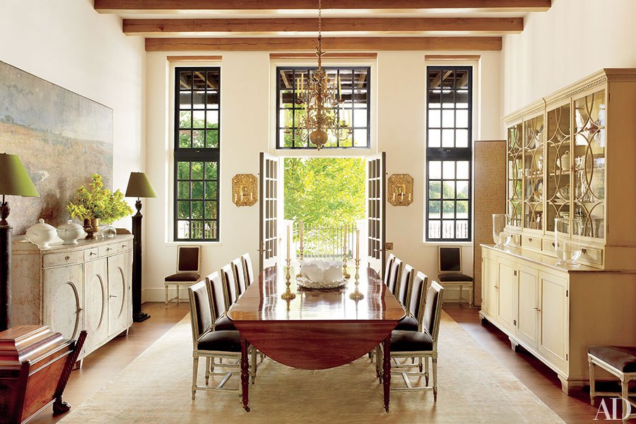 Architect Bobby McAlpine And Interior Designer Ray Booth Collaborate On A Cape Dutch Inspired Home In Baton Rouge Suffused With Light Old World