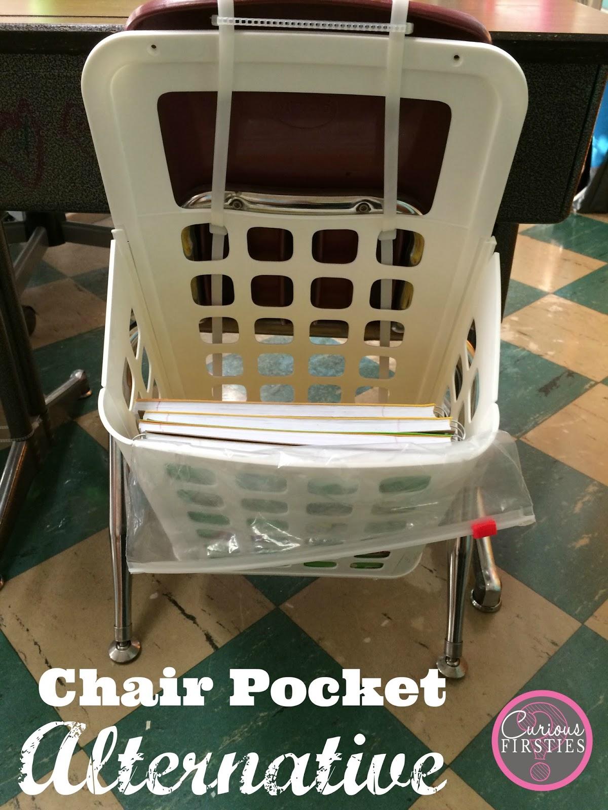 Curious Firsties Chair Pocket Alternative