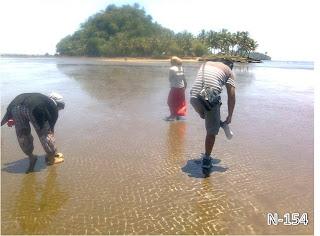 Pantai Air manis, Air Manis Beach, Pulau Pisang Kecil, Banan Island