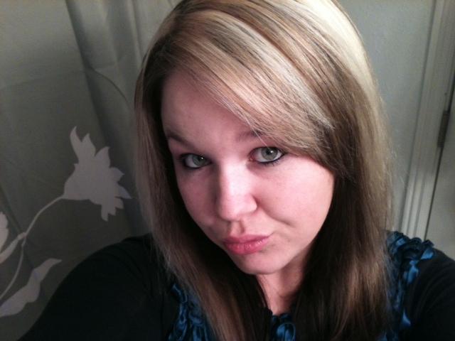 Dark Brown On Top With Blonde Underneath And dark brown underneath