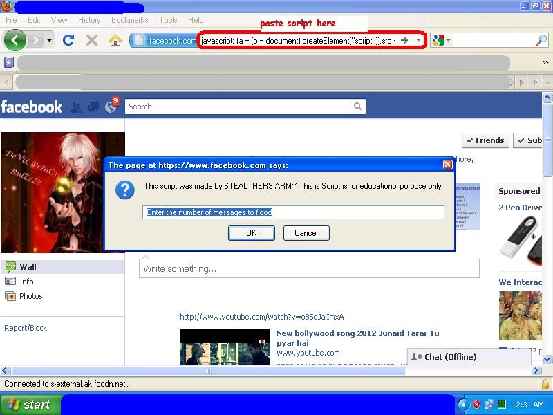 Facebook Flood & Spam - How To Use FB Wall Flooders ...