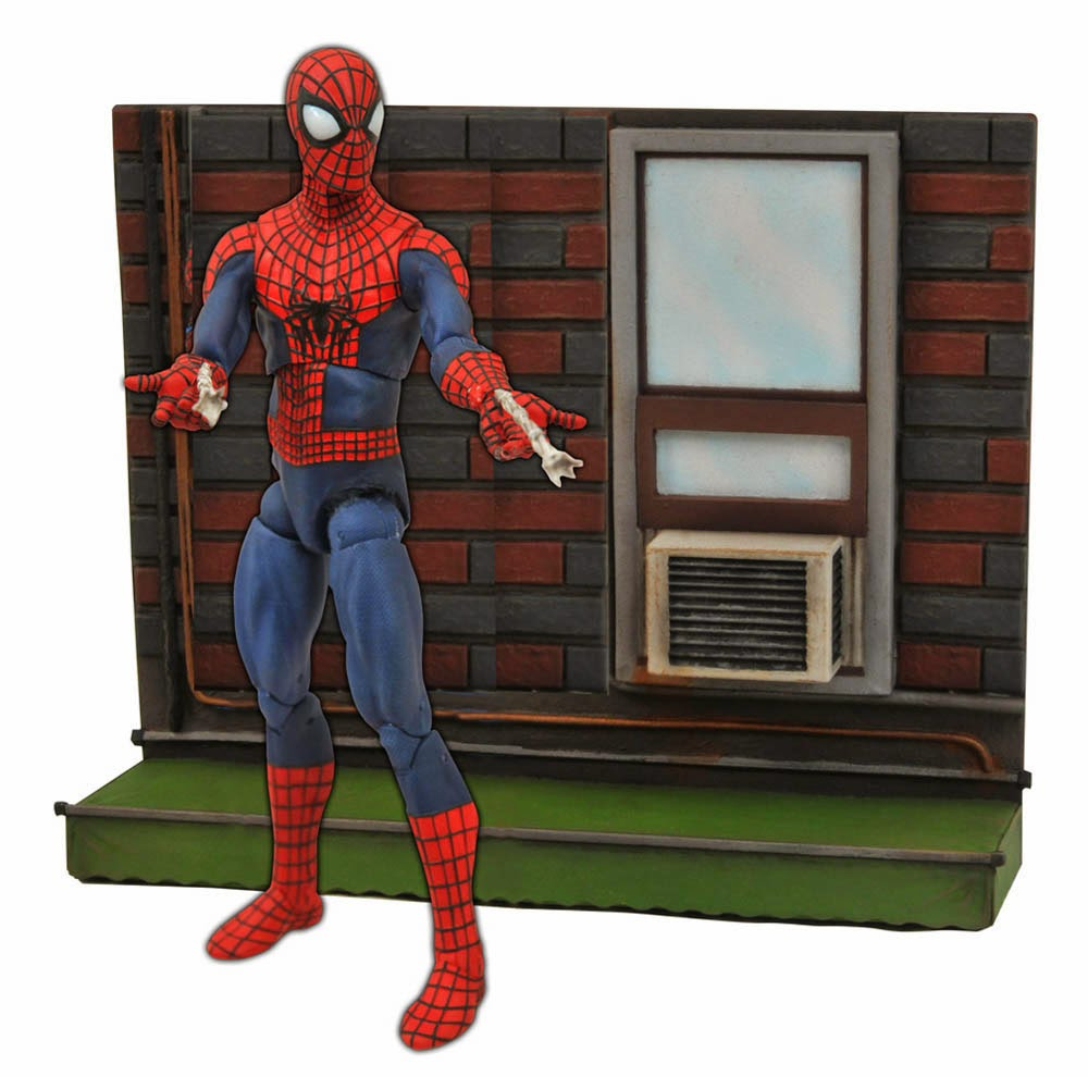 Diorama Spiderman