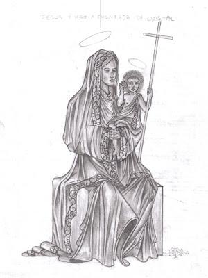 Jesus y María (bosquejo)