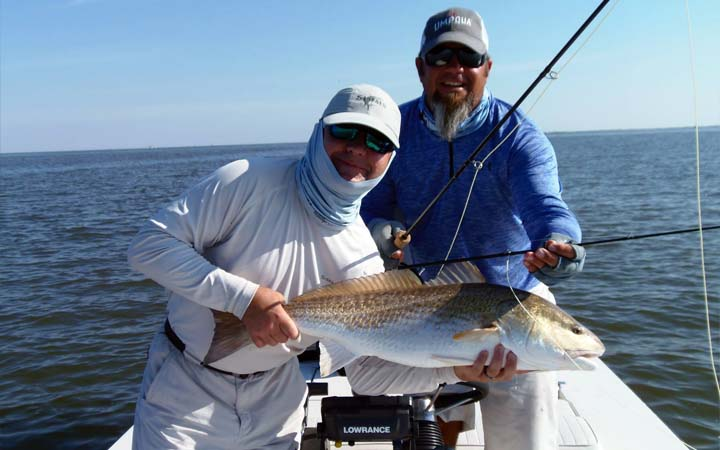 March Louisiana Bull Redfish Fishing Report with Capt. Al Keller