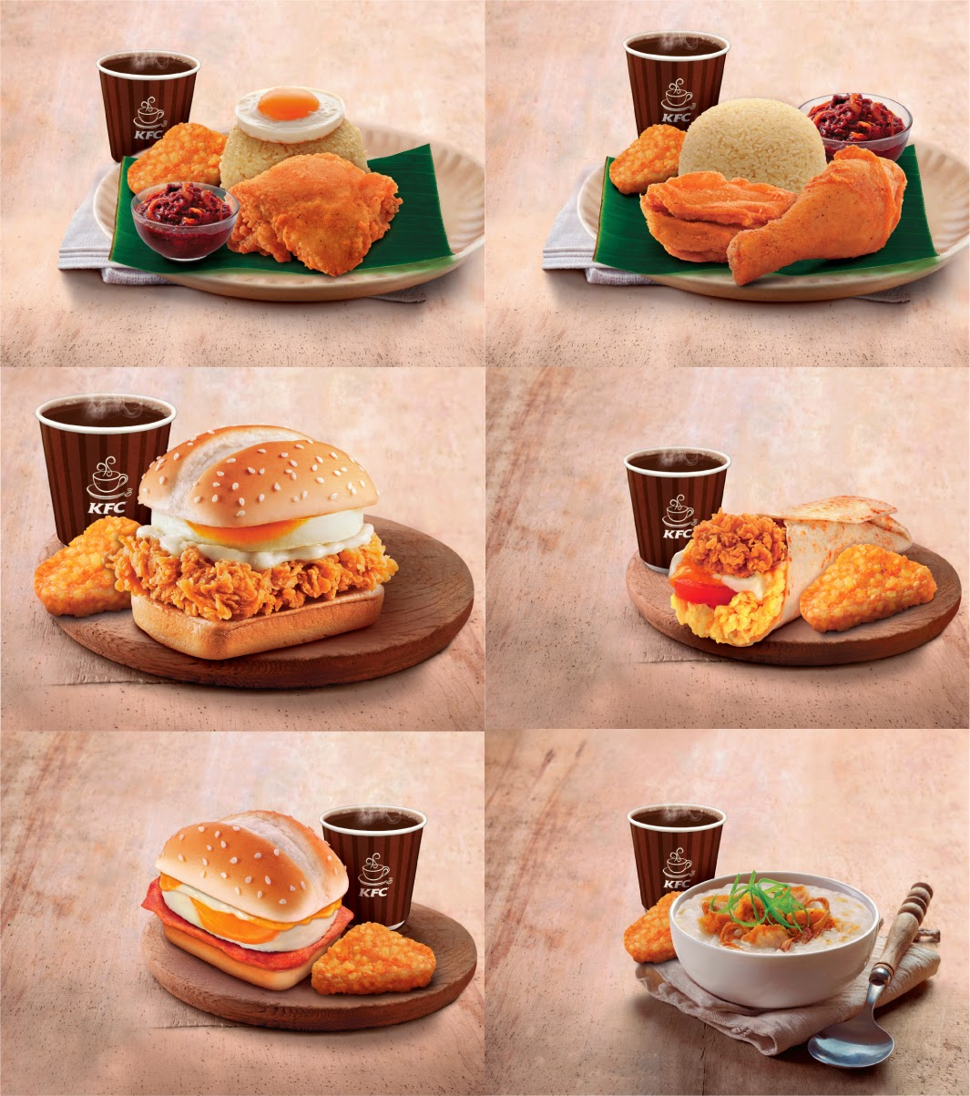 Enjoy A Delicious Morning With Kfc S New Breakfast Range Malaysian Foodie