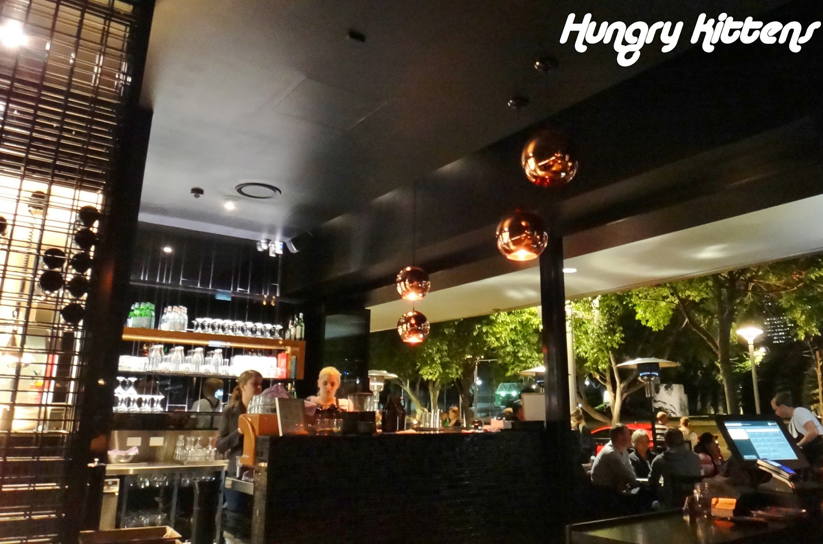 hungry kittens: next door kitchen and bar for goodbye dinner and