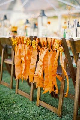 sillas para la recepción de bodas