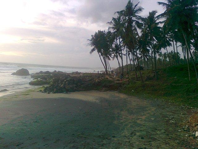 kovalam beach kerala view