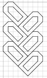 free blackwork woven pattern