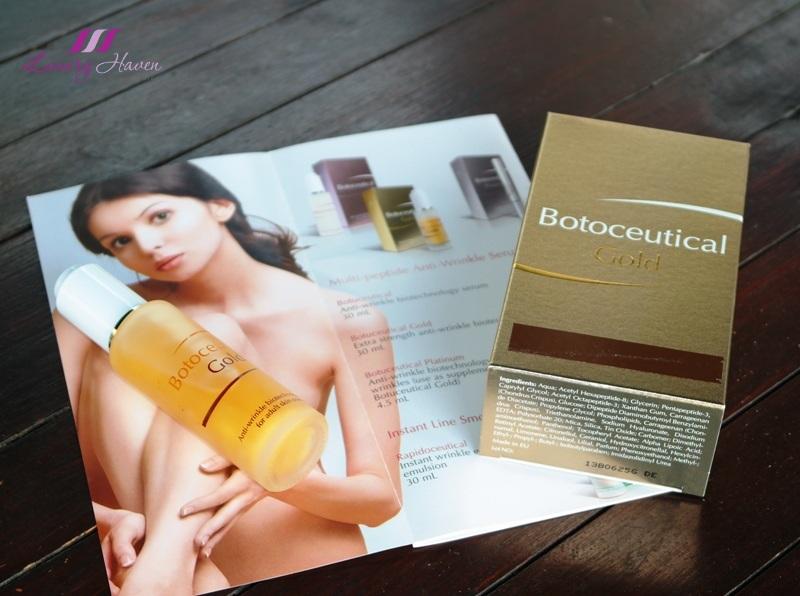 fytofontana cosmeceuticals botoceutical gold anti wrinkle serum