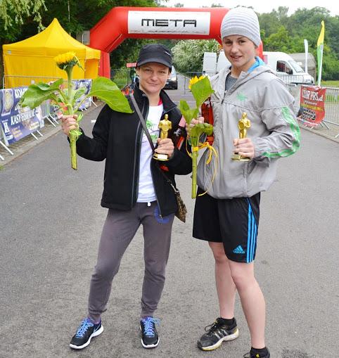 Z klubową koleżanką - nagrodzone kobiety z SKF BOKSING Zielona Góra!