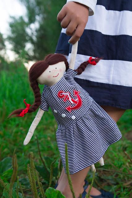 кукла морская тема