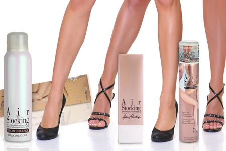 Air Stoking Diamond Legs Despre air stocking - Machiaj pentru picioare