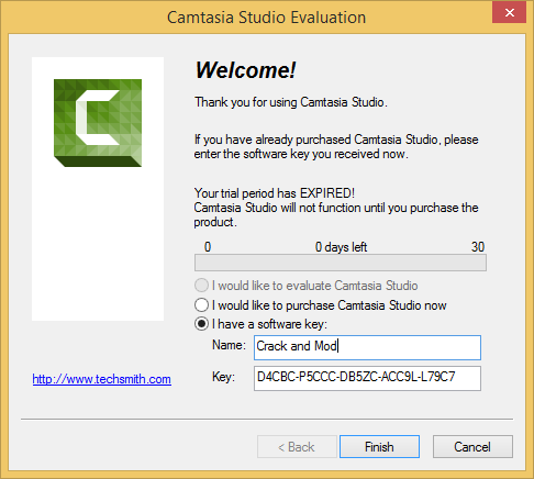 Camtasia Studio 8 Crack Download the product key Final