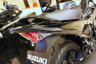 Spay Shot Suzuki Satria F150 Black Edition