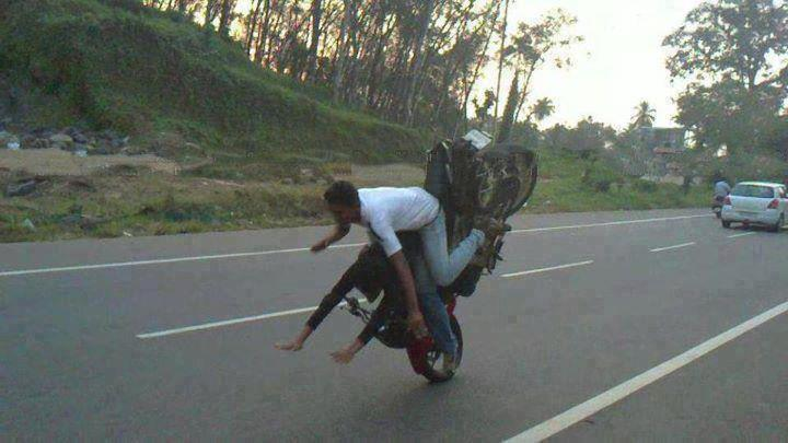 Very Sad Motorcycle Accident