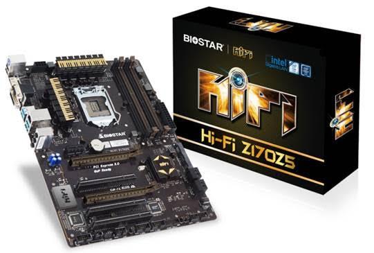 BIOSTAR Hi-Fi Z170Z5 Mainboard