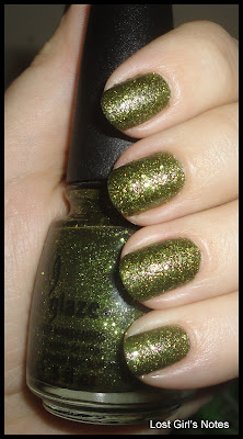 china glaze It's Alive! swatches and review from haunting collection