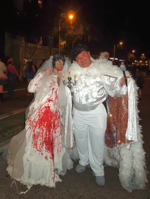 Liberace costume West Hollywood Carnaval 2013