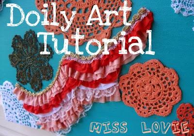 Miss Lovie: Doily Art