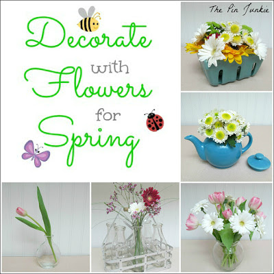 Decorating for Spring with Flowers