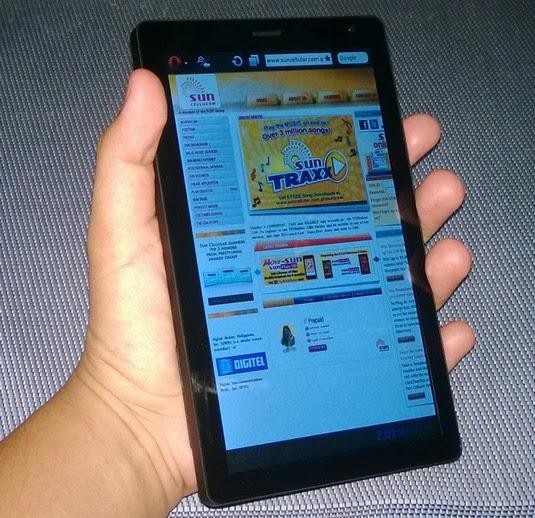 O+ Fab 3G, Opera Mini, Sun Cellular Opera Mini