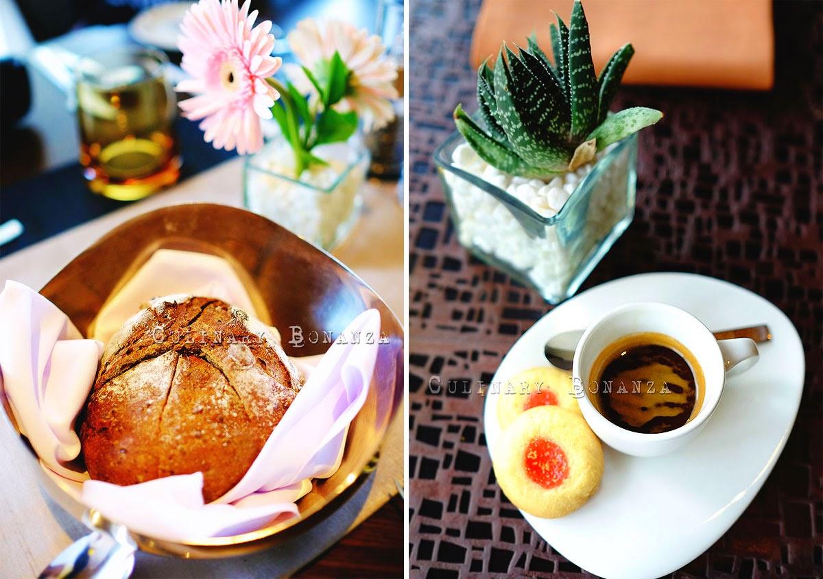 sourdough and espresso