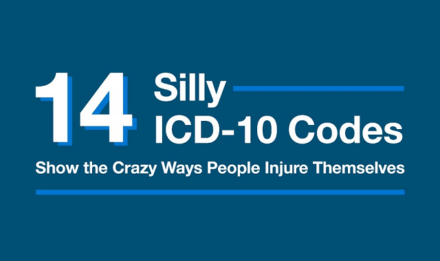 14 Silly ICD-10 Codes Show Crazy Injuries