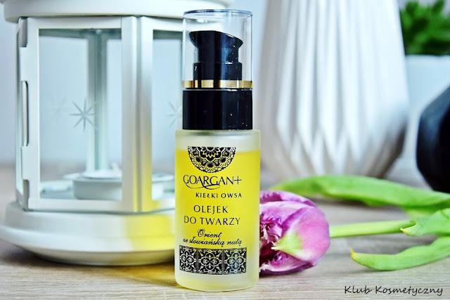 Nova Kosmetyki Go Argan+ olejek z kiełkami owsa