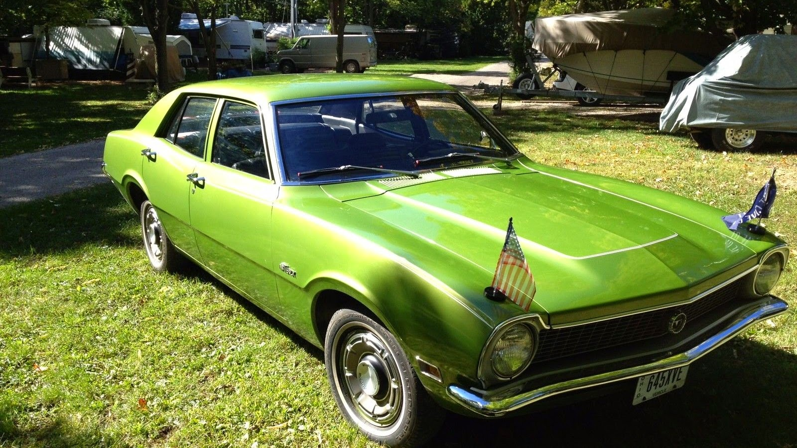 daily turismo 3k diplomatic impunity 1972 ford maverick 4 door. Black Bedroom Furniture Sets. Home Design Ideas