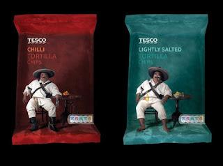 Kotak Kemasan Tesco Tortilla Chips