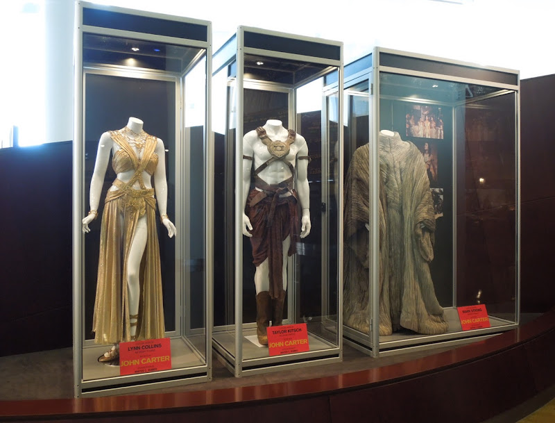 John Carter movie costume exhibit