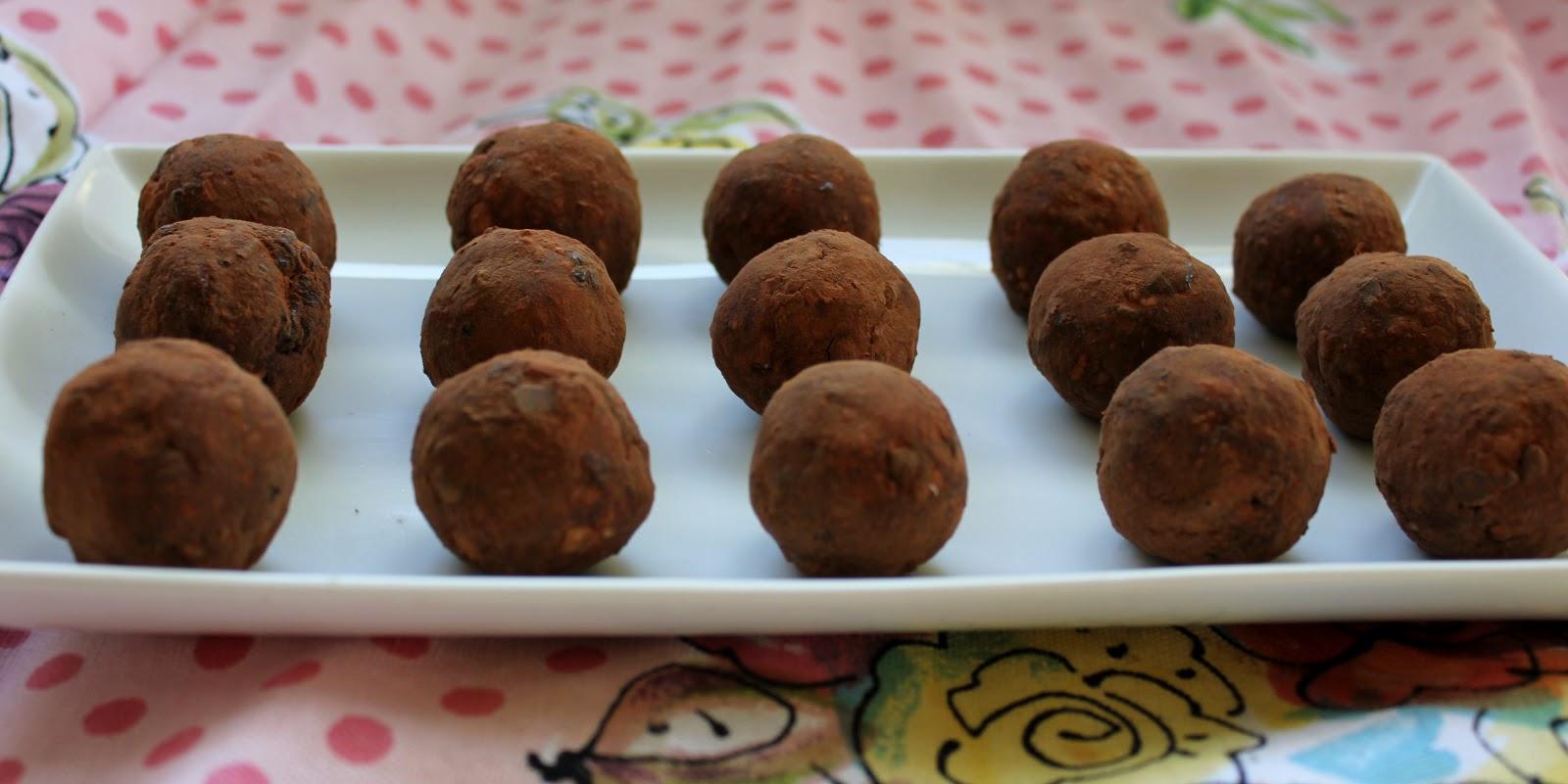 Cherry Chocolate No-Bake Donut Holes - In Johnna's Kitchen