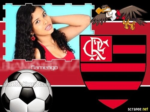 moldura online do Flamengo