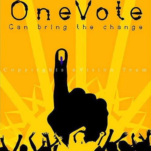One Vote can bring the Change