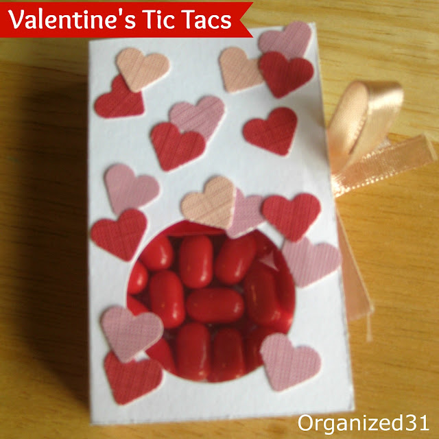 Organized31 - Valentine's Tic Tac Treat