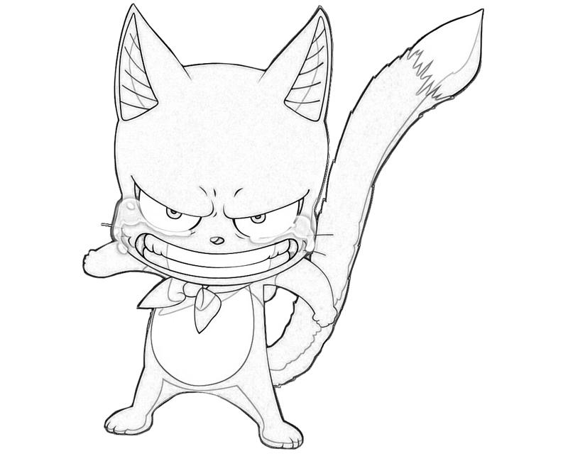 Free Coloring Pages Of Happy Fairy Tail